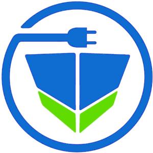 Verband für Elektroschifffahrt und Ladeinfrastruktur e.V. Logo